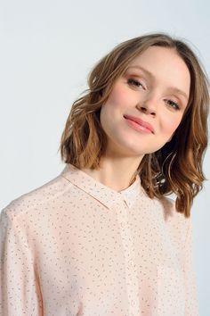 Chemise rosetta poudre - chemise - des petits hauts 2