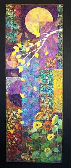 Fiber Art Quilts-Landscape