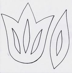 Anna idean kiertää!: Kevään tulppaaneja Flower Crafts, Diy Flowers, Spring Flowers, Paper Flowers, Flower Art Images, Diy And Crafts, Crafts For Kids, Beautiful Flower Tattoos, Making Hair Bows