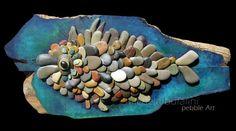 Amazing pebble art by Michela Bufalini