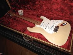 1956 Fender Stratocaster Blond > Guitars Electric Solid Body | Best Guitars