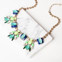 Bourdon Bleu Necklace