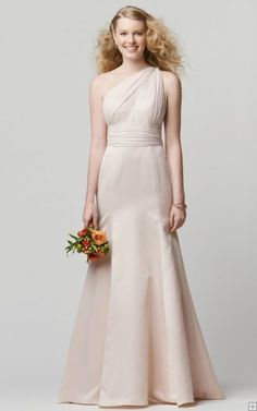 Chiffon Sleeveless Criss-cross Sheath Natural Bridesmaid Dresses