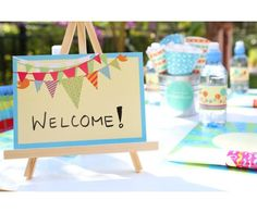 Fun-tacular Carnival Theme Table Signs
