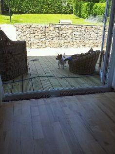 Gabion basket and toby
