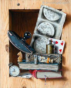 101 art du trompe l 39 oeil de bruno logan peinture pinterest trompe yeux et peinture. Black Bedroom Furniture Sets. Home Design Ideas