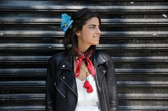 How to Wear a Flower in Your Hair Without Looking Like an A-Hole - Man Repeller