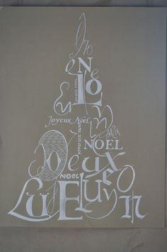 Sapin de Noël @ Coeur cannelle