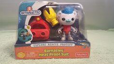 "Barnacles Heat Proof Suit 3"" Octonauts Figure by Fisher-Price #FisherPrice"