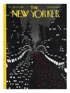 The New Yorker: Gallery of Illustrated Cover Art from The New Yorker Magazine during the featuring the magazine's most iconic cover illustrations. The New Yorker, New Yorker Covers, Capas New Yorker, Image Republic, Journal Vintage, Ville New York, Magazin Covers, Rhapsody In Blue, Vintage Magazines