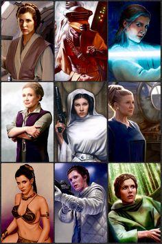 Leia Organa Solo Star Wars