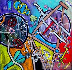 Robert Rauschenberg Bicycle