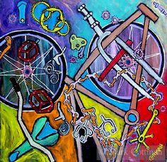 Robert Rauschenberg Bicycle