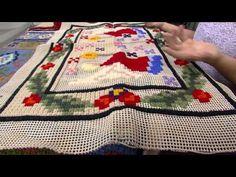 Mulher.com - 07/03/2016 - Ponto rosinha em tapeçaria - Ana Maria Sousa PT2 - YouTube