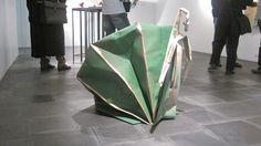 Un caracol gigante de papel. =)