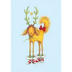 Dog Deer Boxed Cards