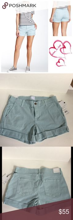 """Rich and Skinny Hampton Shorts 26 NWT Rich and Skinny Hampton Short NWT 4 pocket construction, zipper with button closure. 9"""" rise with 3"""" inseam. Cuffed hem. New with tags bought two pairs and I have only worn one of them so selling these. Does have stretch. Material is 98% cotton and 2% spandex. Rich & Skinny Shorts"""