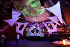 deco dream team psychedelic trance festivals decor fluoro plur GANSEDOLIN