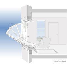 Platinum Winner - More Sky Architecture Details, Interior Architecture, Interior Design, Window Design, Architectural Elements, Design Awards, Porches, Future House, Furniture Design
