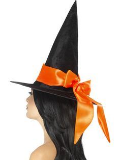 This Halloween, make sure you finish off your party look with this fantastic witch hat. It is a perfect addition to your Halloween outfit. With this hat, you c Halloween Witch Hat, Adult Halloween, Witch Hats, Halloween Table, Halloween 2020, Halloween Costume Accessories, Halloween Outfits, Occasion Hats, Witch Costumes