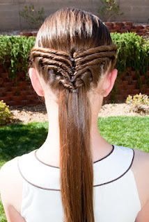 For Milee, tons of tutorials for cute braids and piggies for little girls