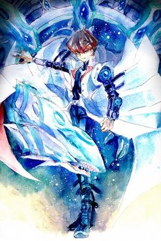 The dark side of dimension  Seto Kaiba and Blue Eyes chaos max dragon