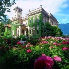 beautyandtheharpsichord: Villa Erba Lago di Como. My blog posts