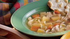 Bring back memories of Mom's cooking with this chicken noodle soup – an easy-to-make dinner.