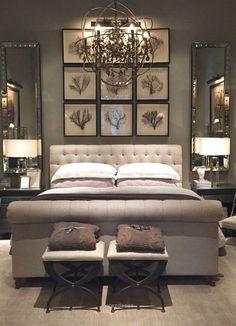 Outstanding Master bedroom design idea. The post Master bedroom design idea…. appeared first on Derez Decor .