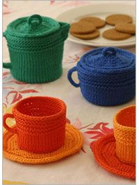 Fiesta Tea Set - Interweave