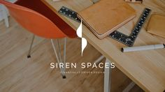Handcrafted by ReyvanJaya. Siren Spaces picked this logo out of 210 designs submitted