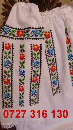 Cross Stitch Charts, Cross Stitch Patterns, Palestinian Embroidery, Diy Flowers, Cross Stitch, Cross Stitch Art, Embroidered Blouse, Tejidos, Manualidades