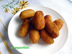 las recetas de mi abuela: CROQUETASpollo jamon y queso