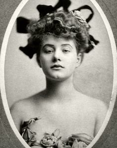 "One of the original ""Florodora Girls"" photographed by Burr McIntosh - Elsie Louise Ferguson (1885-1961)"