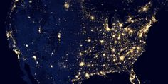 See the Earth at Night from Space!