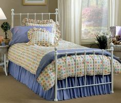 Hillsdale 1222BTW Molly Bed Set - Twin - Rails not included