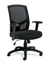 This high back mesh chair from Offices To Go is new in 2016. With awesome ergonomic features and an everyday low price of just $179.99 it's an awesome buy!