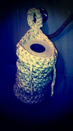 Suporte papel higiénico trapilho # qualquer cor # 12,50€