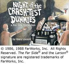 Andrews McMeel Pub Night of the Crash-Test Dummies By Larson, Gary at Sears
