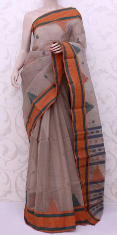 Bengal Handloom Tant Saree (Cotton) 13095