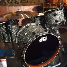 DW Drums- in my humble opinion, the best drums on the market since Rogers went out of business !