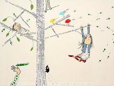 Tigerlilly Quinn: Childrens book illustrations