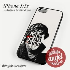 Sherlock is Genius Phone case for iPhone 4/4s/5/5c/5s/6/6s/6 plus