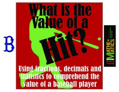 Use statistics and decimals to figure out: how much did I earn from that hit?