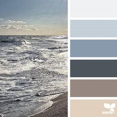 today's inspiration image for { color sea } is by @acciaio73 ... thank you, Cristiana, for another inspiring #SeedsColor image share!