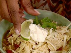 Gina's Hot and Spicy Tortilla Soup Recipe : Patrick and Gina Neely : Food Network