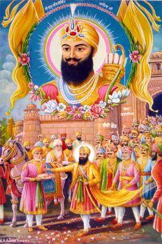 Image result for sikh ten gurus art gallery
