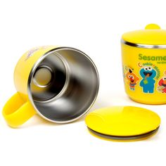 Sesame kids SS Cup with a Lid
