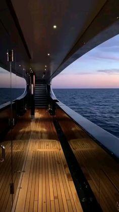Luxury Yacht Interior, Luxury Cars, Luxury Vehicle, Luxury Vinyl, Beautiful Places To Travel, Luxury Homes Dream Houses, Stunning View, Luxury Living, Luxury Travel