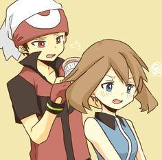 Sapphire brushing Ruby's hair... Aaaawwww (^u^)/